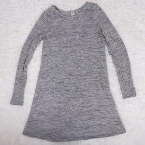 2/$20 Old Navy grey light knit sweater dress b901